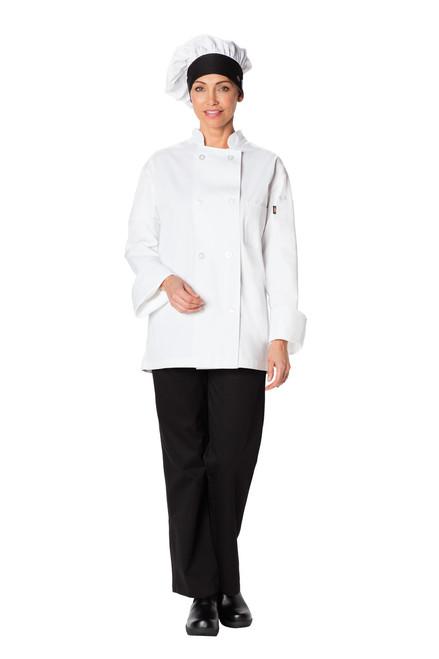 Dickies Chef DC591-WTBK Gorro para Chef