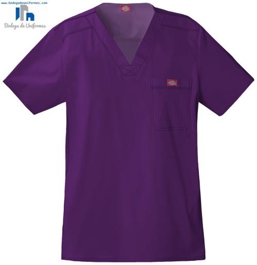 Dickies Medical 81722 Filipina Youtility con Cuello V para Hombre