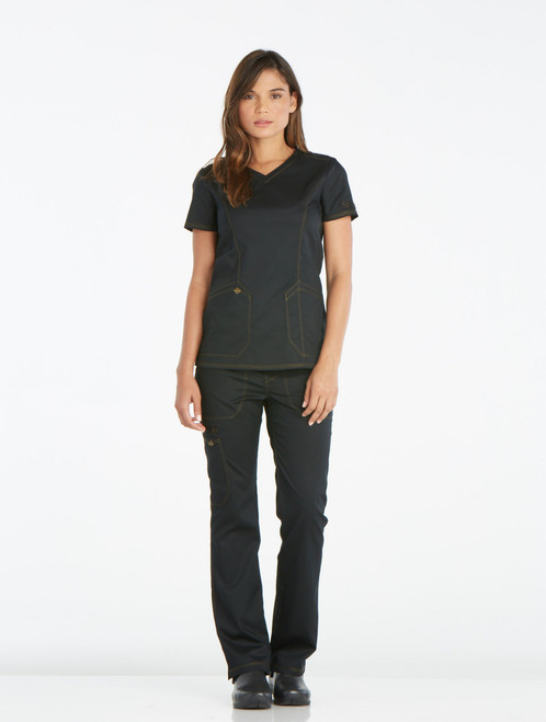 Dickies Medical DK803-BLK Filipina Medica