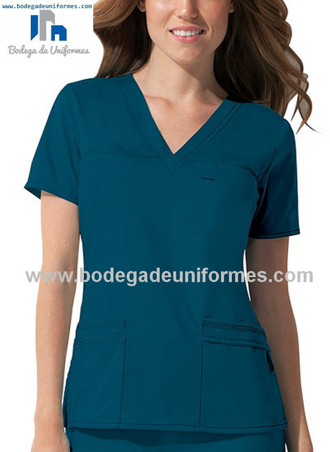 Dickies Medical 817455 Filipina Youtility con Cuello V de Mujer