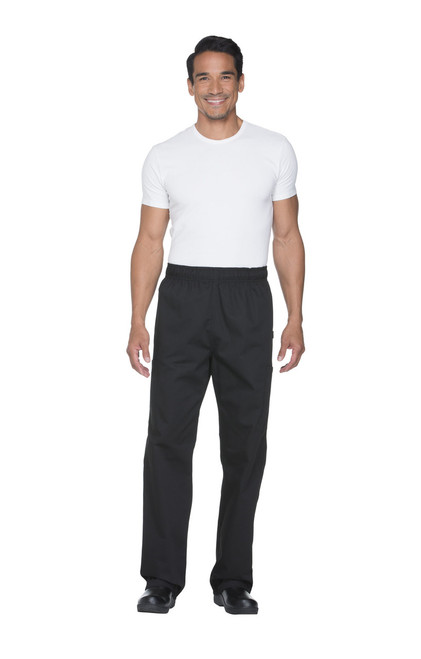 DC12-BLK Pantalon de Chef Negro