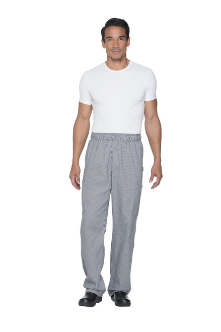 Dickies Chef DC12-HDTH Pantalon de Chef en Pata de Gallo