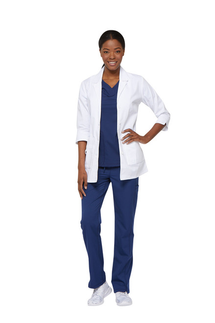 Dickies Medical 82402 Bata de 30 Pulgadas para Mujer