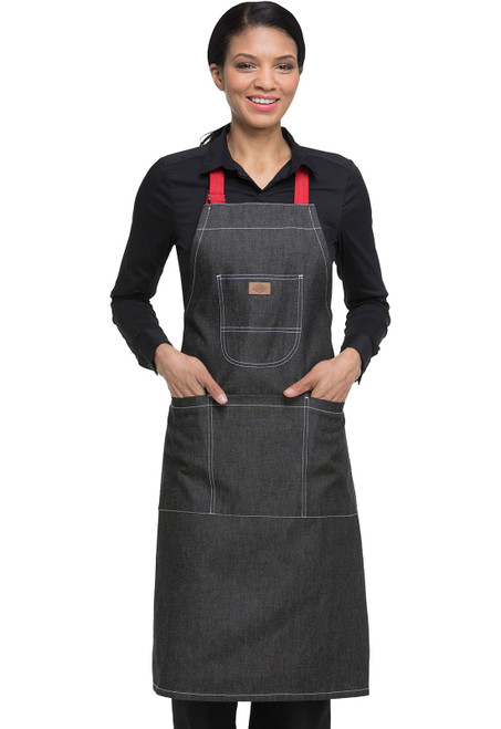 Dickies Chef DC592R-BKDN Mandil para Chef