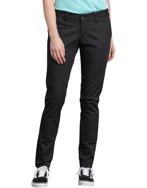Dickies FP512 Pantalones de Mujer con Corte Skinny