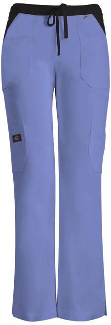 Dickies Medical 82120 Pantalon Tipo Cargo con Jareta y 12 Bolsillos para Mujer
