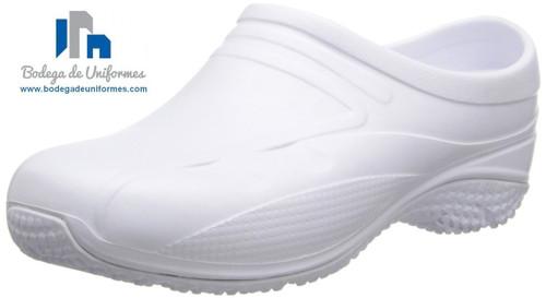 Anywear Exact Zapato Unisex WHT Ideal para Chef y Hospitales