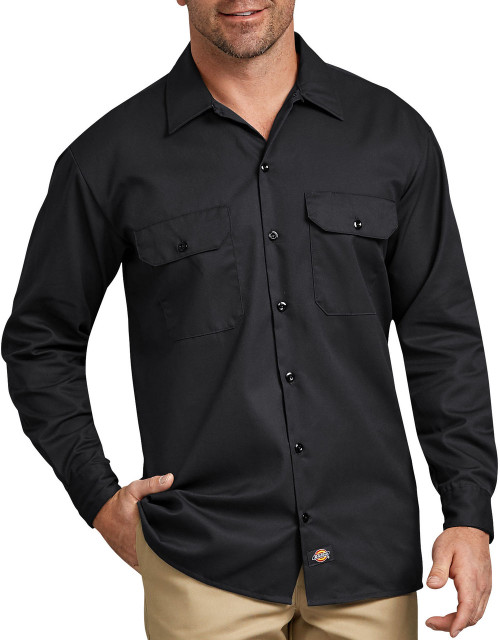 Dickies 574 Camisa Manga Larga para Trabajo Rudo en www.bodegadeuniformes.com