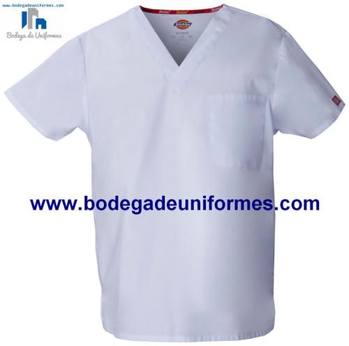 Dickies Medical 83706 WHWZ Filipina Unisex cuello V