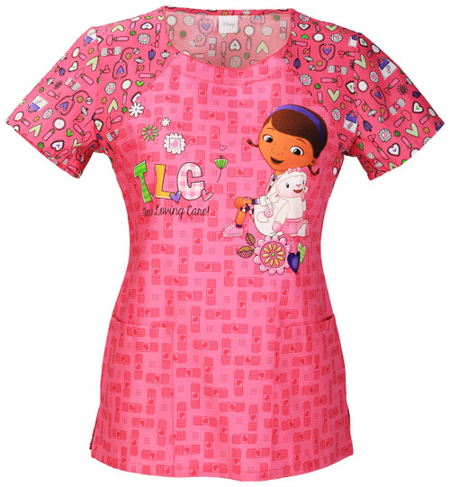 DISNEY 6717CB-DCOV FILIPINA - UNIFORMES MEDICOS