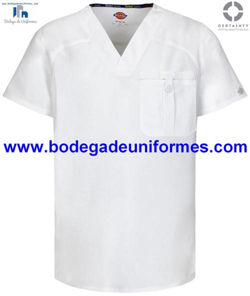 DICKIES 81714A-WHWZ FILIPINA - UNIFORMES MEDICOS