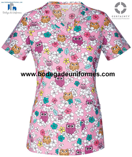 CODE HAPPY CH604X5A-OWNA FILIPINA - UNIFORMES MEDICOS