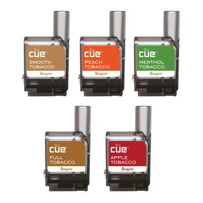 Cue® Vapor E-Liquid Cartidges