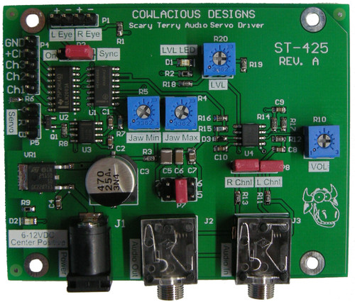 Scary Terry Audio Servo Driver Board, ST-425