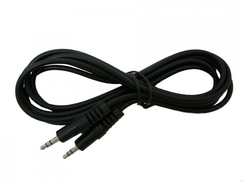 12 foot Audio Cable, Stereo 3.5mm-3.5mm Male to Male
