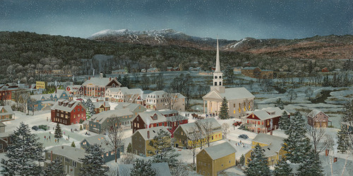 Winter Memories, Stowe, VT by Fred Swan