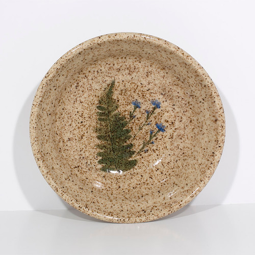 Small Wildflower Bowl (Blue Flowers)