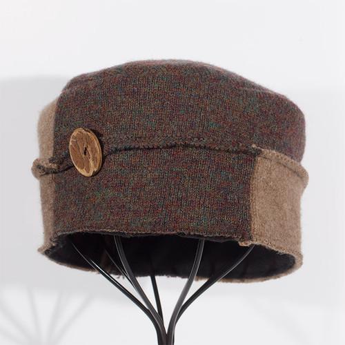 Wool Hat - Brown