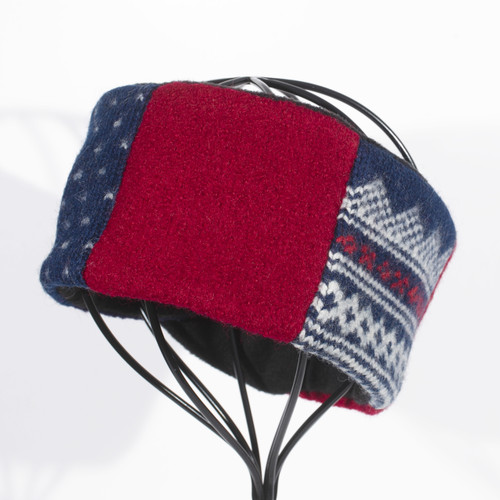 Head Band - Blue and Red