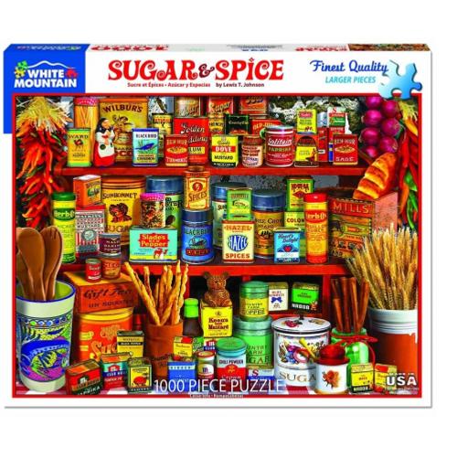 Sugar & Spice- Puzzle