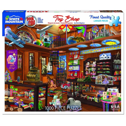 Toy Shop - puzzle- Seek & Find