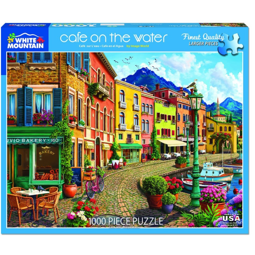 Cafe on the Water- Puzzle