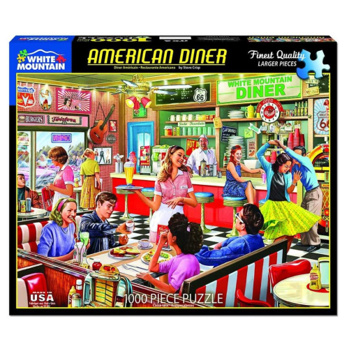 American Diner- puzzle