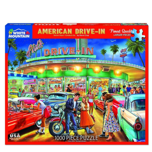 American Drive In- puzzle
