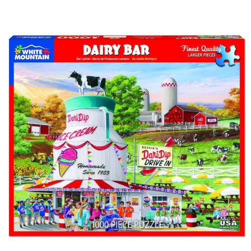 Dairy Bar- puzzle