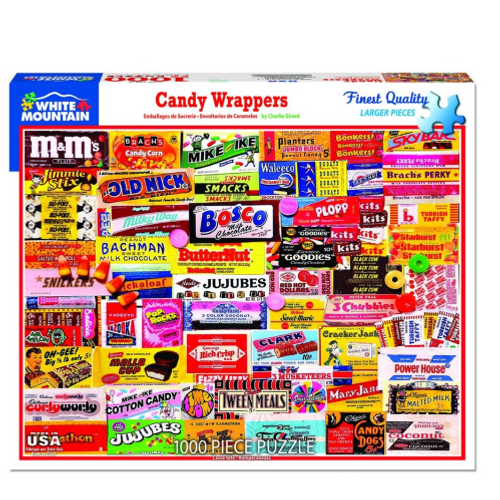 Candy Wrappers- puzzle