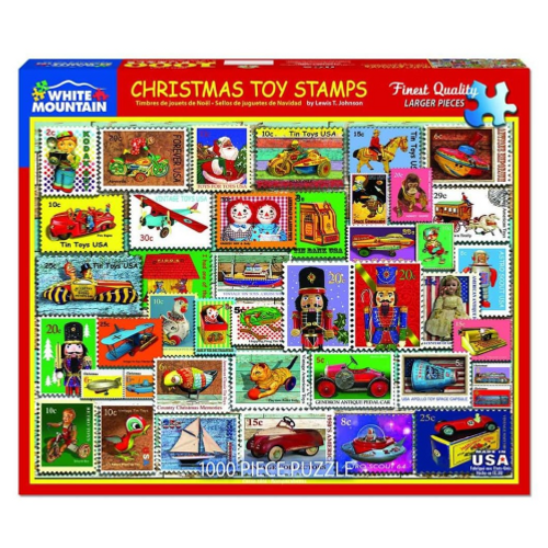 Christmas Toy Stamps- puzzle