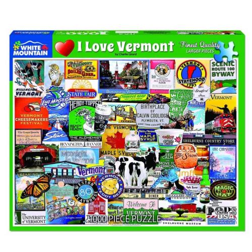 I Love Vermont- puzzle