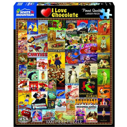 I Love Chocolate- puzzle