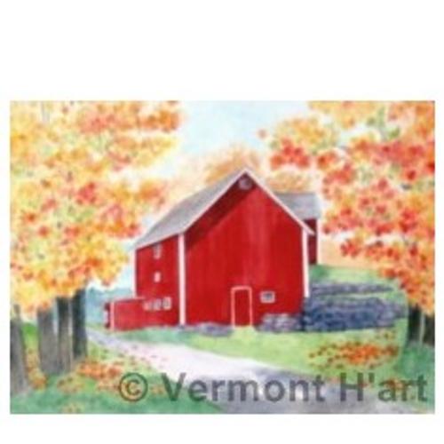 Vermont Fall- Fairfield Entrance