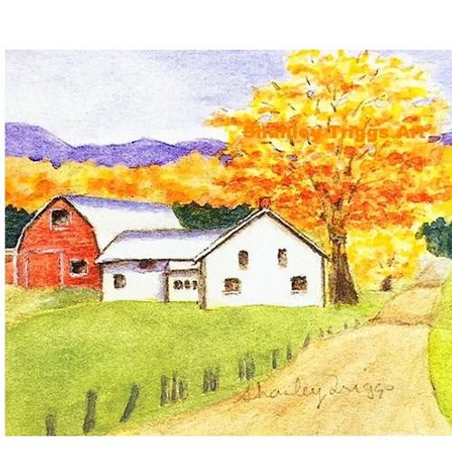 Vermont Fall- Georgia