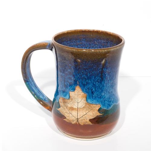 Mug - Maple Leaf-Left handed