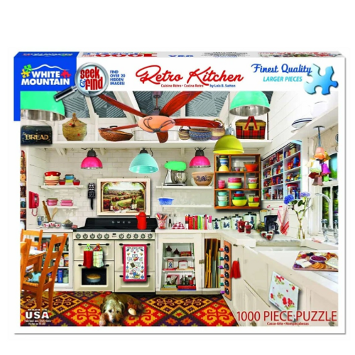 Retro Kitchen- puzzle