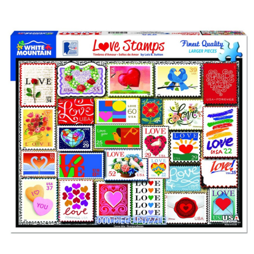 Love Stamps- puzzle