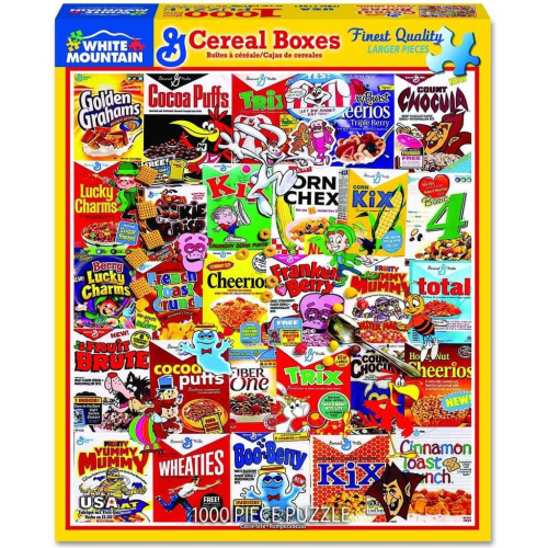 Cereal Boxes- puzzle
