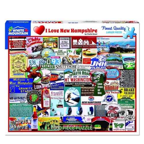 I Love New Hampshire- puzzle