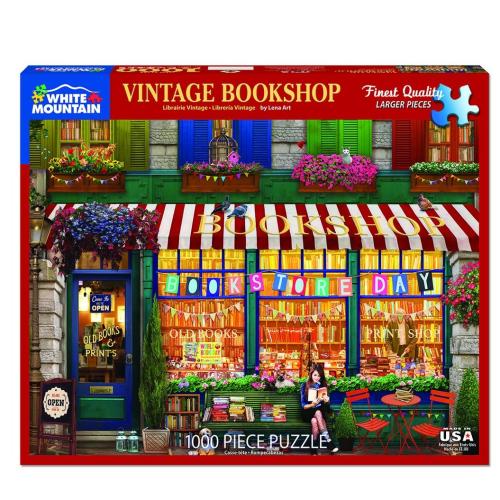 Vintage Bookshop- puzzle