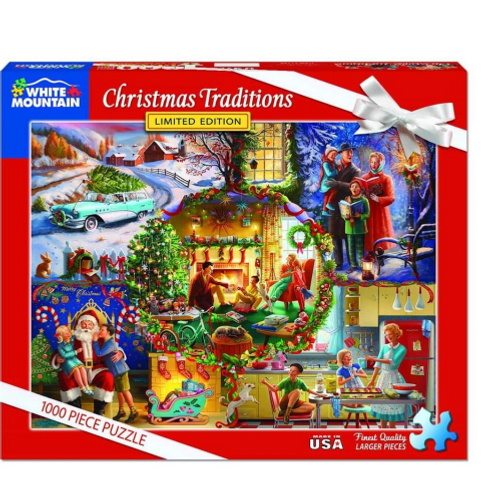 Christmas Traditions- puzzle