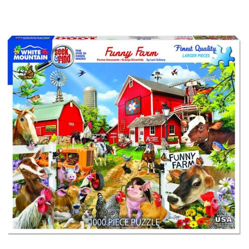 Funny Farm- puzzle