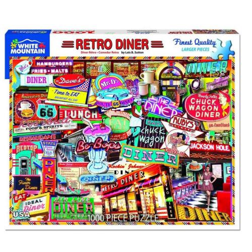 Retro Diner- puzzle
