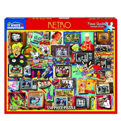 Retro - puzzle