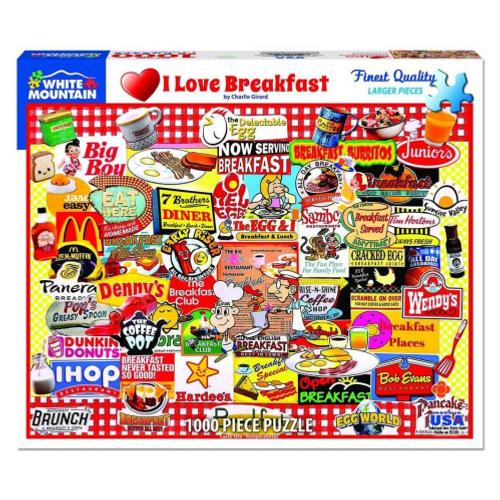 I Love Breakfast - puzzle