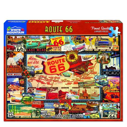 Route 66- puzzle