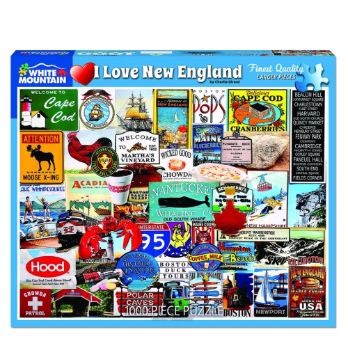 I Love New England- puzzle