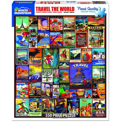 Travel The World- puzzle