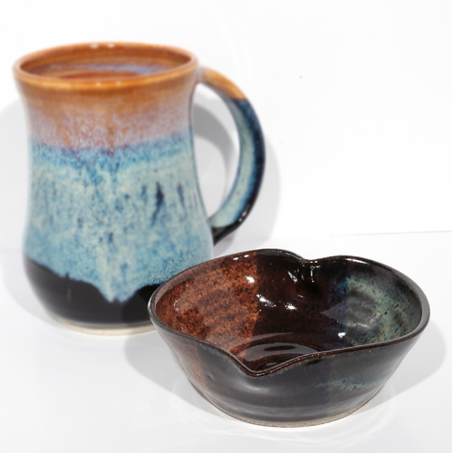 Heart Bowl - Brown/Storm